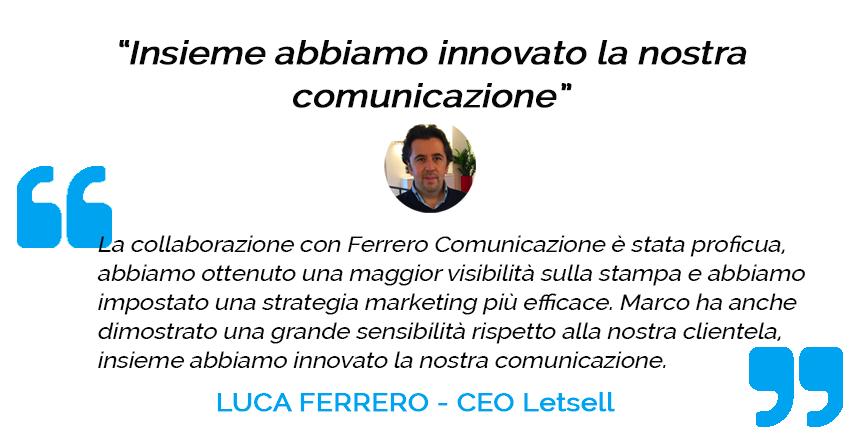 Testimonianza Luca Ferrero
