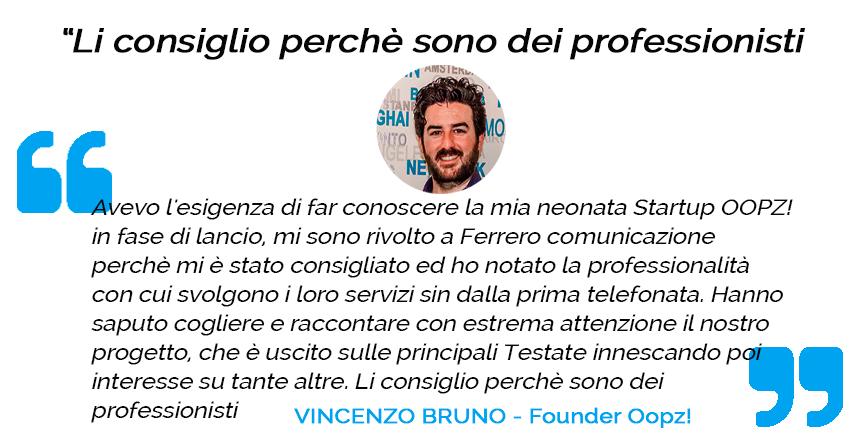 Testimonianza Vincenzo Bruno